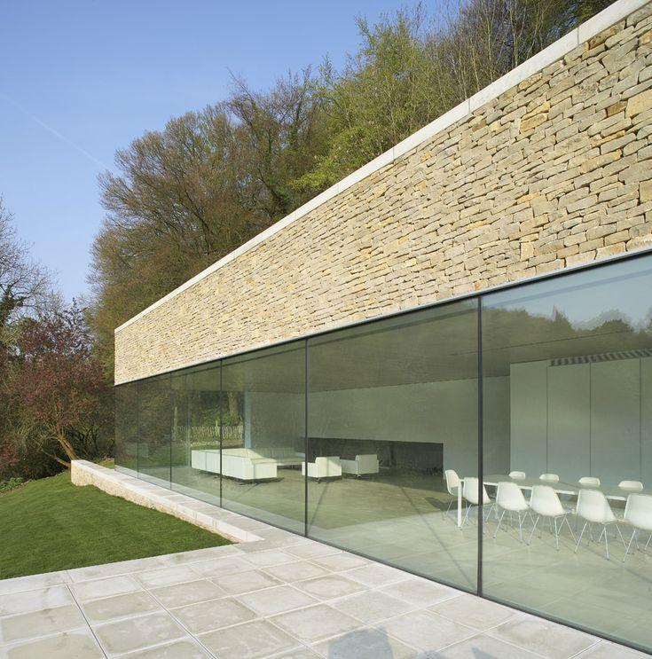 Award Winning new build contemporary houses using Slim Framed Sliding Doors   Minimal Windows Sliding Glass Doors by IQ Glass