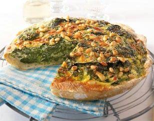 Das Rezept für Italienische Ricotta-Spinat-Quiche und weitere kostenlose Rezepte auf LECKER.de