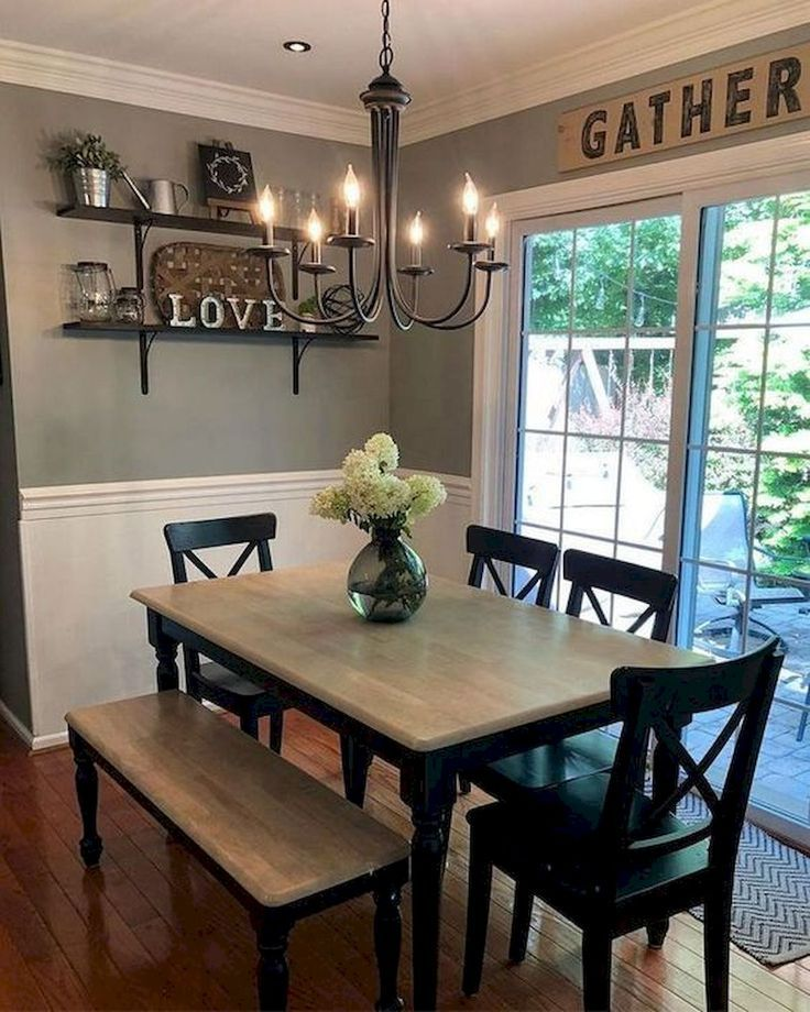 55 Stunning Diy Projects Furniture Tables Dining Rooms Design Ideas Blog Farmhouse Dining Rooms Decor Dining Room Small Dining Room Decor
