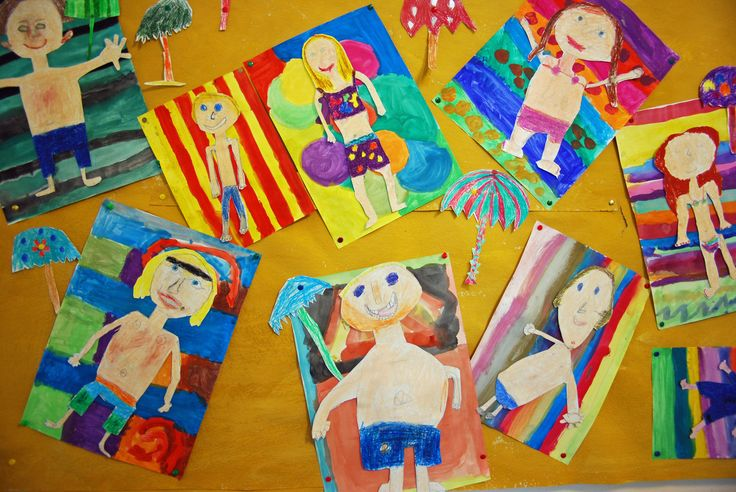 Art lessons in elementary school, art examples for class 1 to 6 – 136s website!