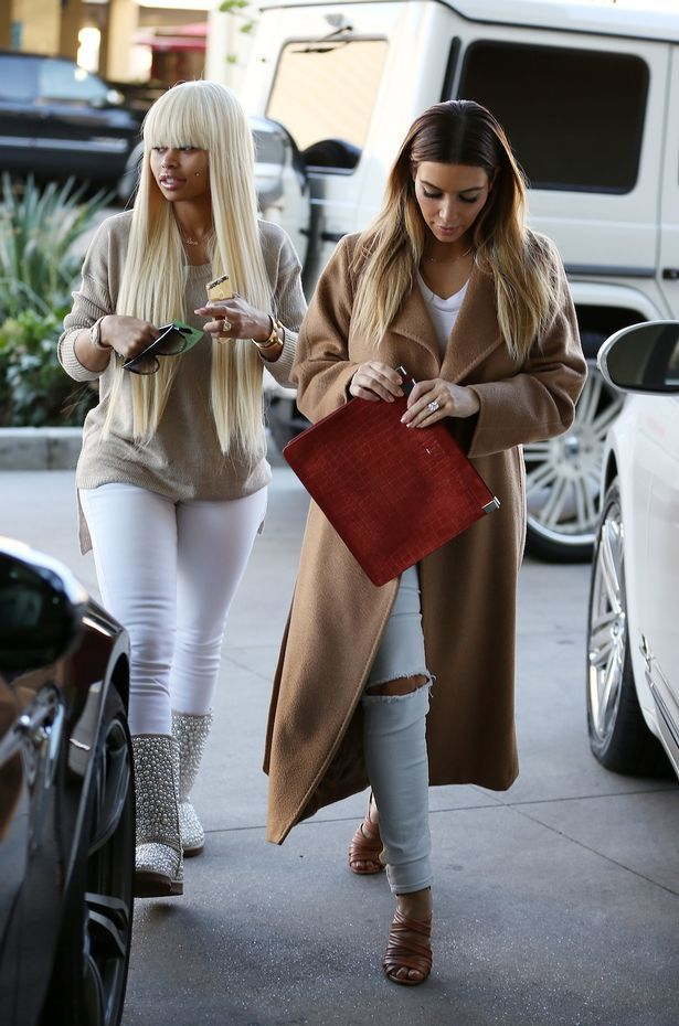 Blac Chyna's Outfit is Cute :)