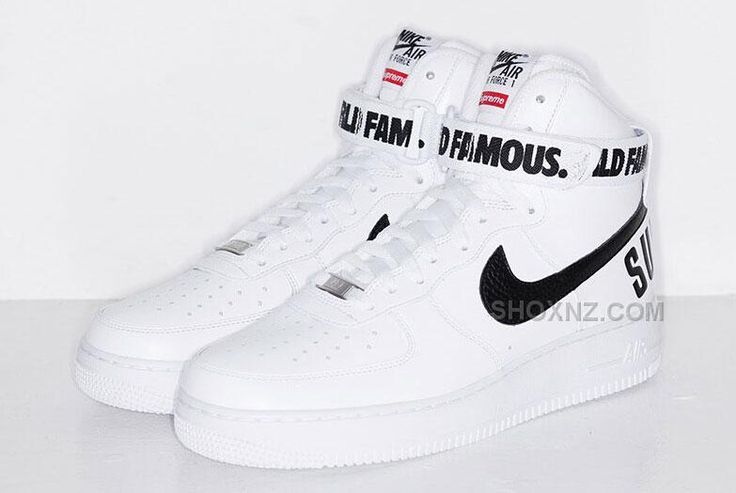 http://www.shoxnz.com/2015-nike-af1-air-force-1-high-x-supreme-hi-sp-shoes-classical-white-black-online-sneakers.html 2015 NIKE AF1 AIR FORCE 1 HIGH X SUPREME HI SP SHOES CLASSICAL WHITE BLACK ONLINE SNEAKERS Only $119.00 , Free Shipping!