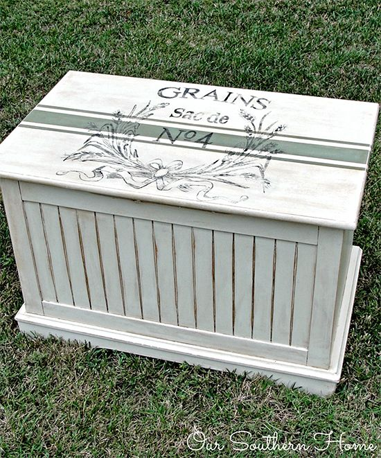 Painted Toy Chest – Reader Featured Project