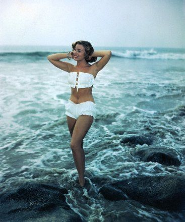 1950's model. Loved swimsuits from that era