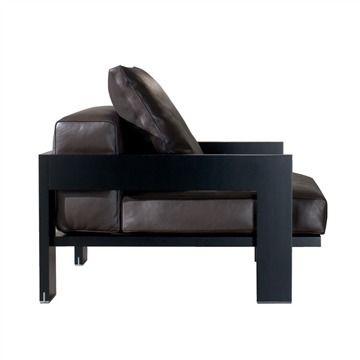 Alison Black Armchair