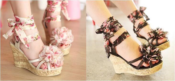 Женская летняя обувь на платформе