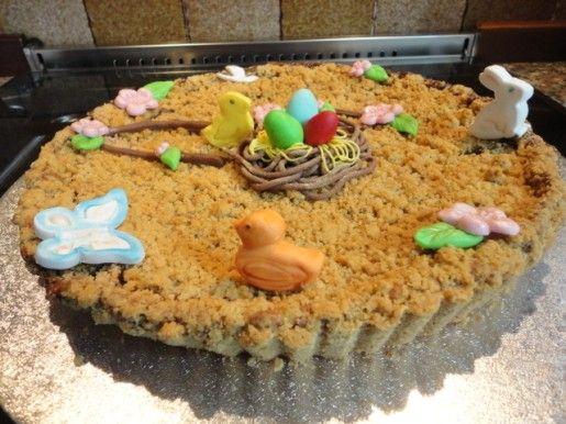 Torta al bacio decorata - http://www.food4geek.it/torta-al-bacio-decorata/