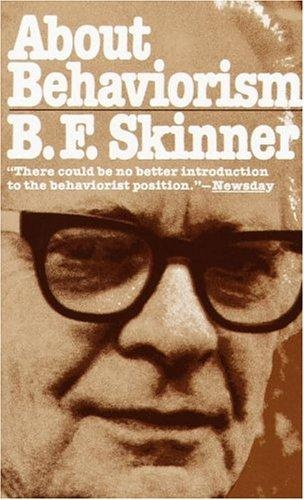 """The present argument is this: mental life and the world in which it is lived are inventions. They have been invented on the analogy of external behavior occurring under external contingencies. Thinking is behavior. The mistake is in allocating the behavior to the mind."": Worth Reading, Behaviorism, Download Books, Fave Books, Bf Skinner, Aba Books, Books Worth, Basic Book"