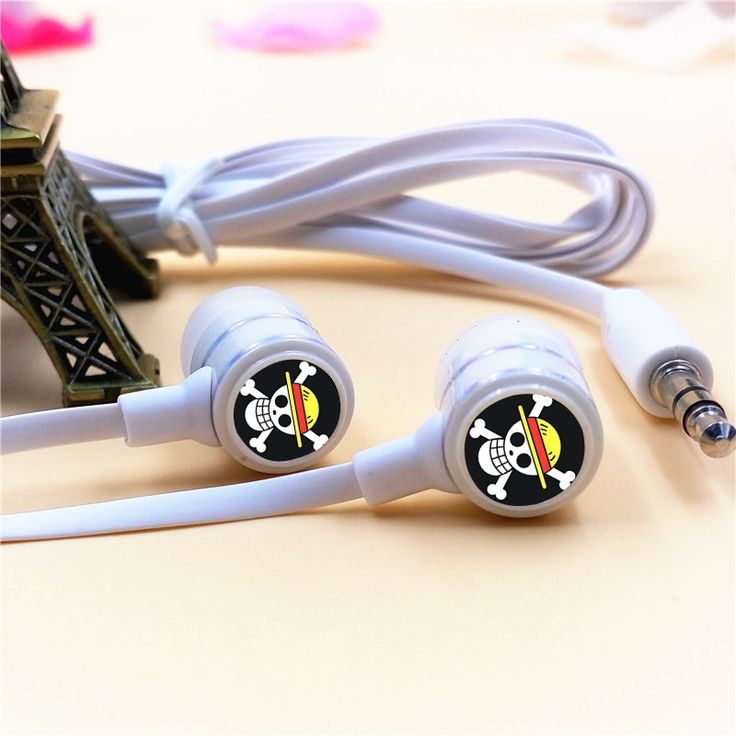 One Piece Skull Earphone 3.5mm Stereo Earbuds Phone Music MP3 //Price: $17.00 & FREE Shipping //     #onepieceluffy #onepiecefigure #dluffystore