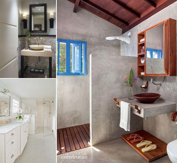 13 Terrific Ways to Design a Simple Yet Interesting Bathroom - http://www.amazinginteriordesign.com/13-terrific-ways-to-design-a-simple-yet-interesting-bathroom/
