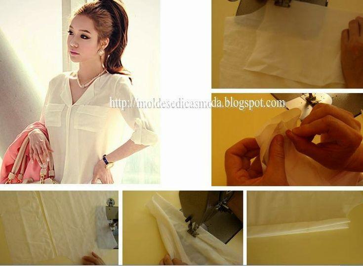 MALHETE ESCONDIDO O malhete escondido tem uma importância fundamental no acabamento dos modelos de roupa como por exemplo nas blusas, camisas, vestidos, e