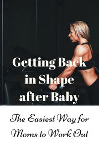 Working out for beginners. What's the best way for new moms to get back into a fitness routine after baby? I've tried several and here's what I found out. There are pros and cons for workout at home with kids, but there are a lot of considerations! Click for the article.