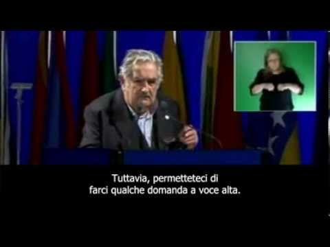 Discorso del presidente Mujica alle Nazioni Unite sullo sviluppo sostenibile - sub ITA