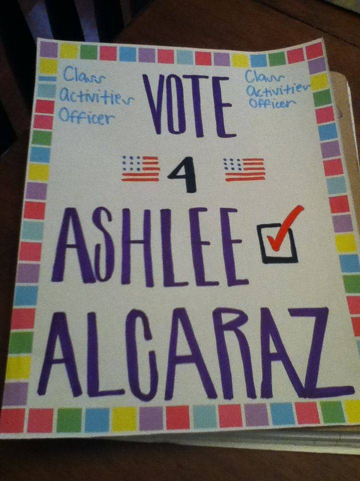 Vote for me poster (With images) | Student council ... |Vote For Me Student Council Posters