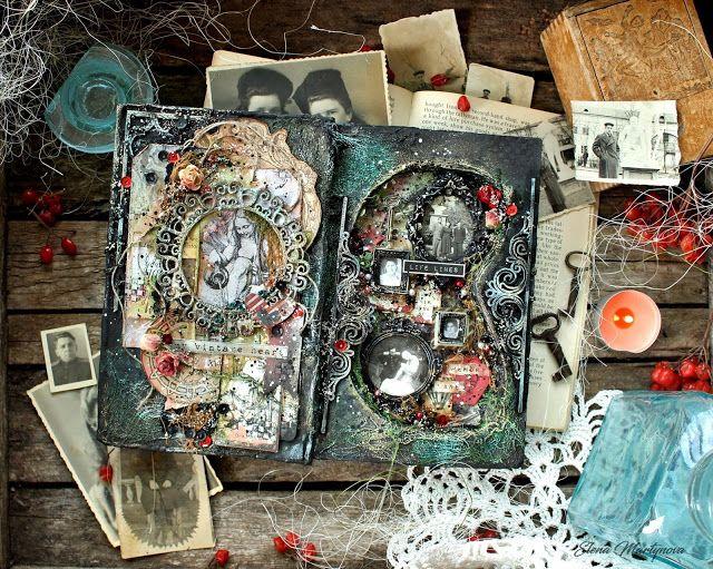 Elena Martynova: Old Altered Book | Старинный альтер-бук