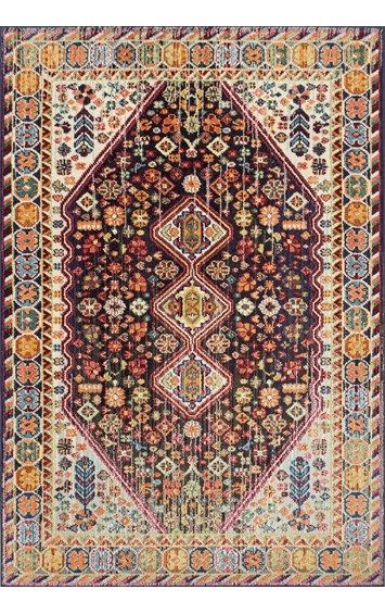 "$288 for 7'10"" x 11' rectangle Chroma Vibrant Meadow CB15 Rug.  Color: MULTI 100% polypro machine made in Turkey"