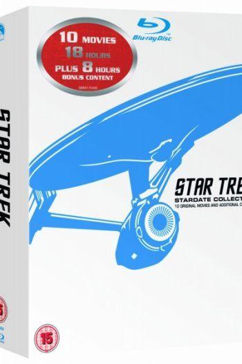 Star Trek Stardate Collection The Movies 1 10 Blu ray 220x330 Great Star Trek Gift Ideas