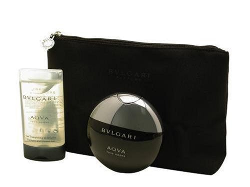 Bvlgari Aqua By Bvlgari For Men, Set-edt Spray, 1.7-Ounce Bottle & Shampoo, And Shower Gel, 2.5-Ounce Bottle & Toiletry Case by BVLGARI. $79.00. This item is not for sale in Catalina Island. Packaging for this product may vary from that shown in the image above. Launched by the design house of Bvlgari in 2005, BVLGARI AQUA is a men's fragrance that possesses a blend of amber, santolina, petit grain, posidonia, and mandarin.  It is recommended for casual wear.