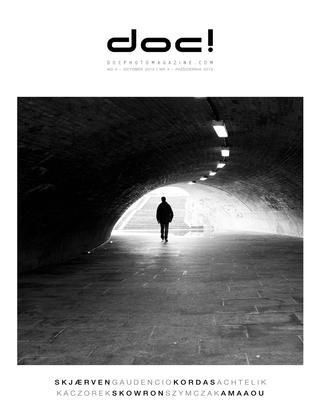 Cover of doc! photo magazine #4. Cover photo: Knut  Skjærven.