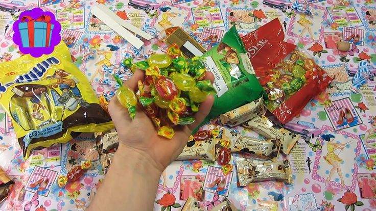 Sweets and a Lot Of Candy Gummy Bears, Suprise Eggs! Video For Kids Fun!