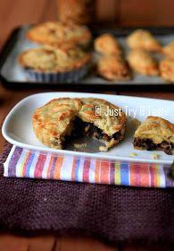 Just Try & Taste: Pie Isi Daging dan Jamur