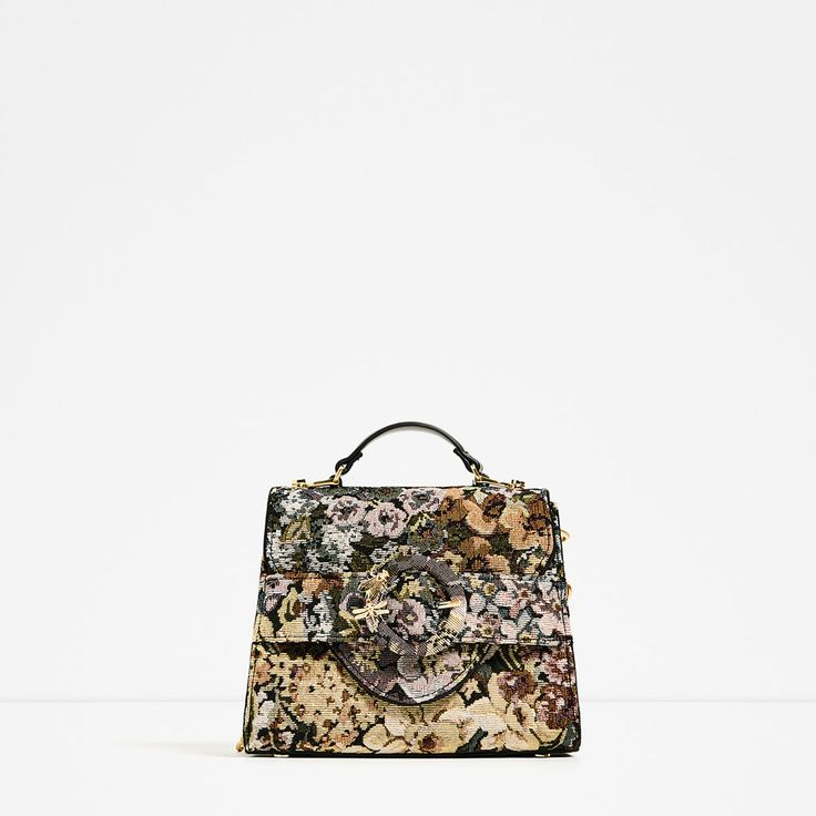 ZARA - WOMAN - FABRIC MINI CITY BAG