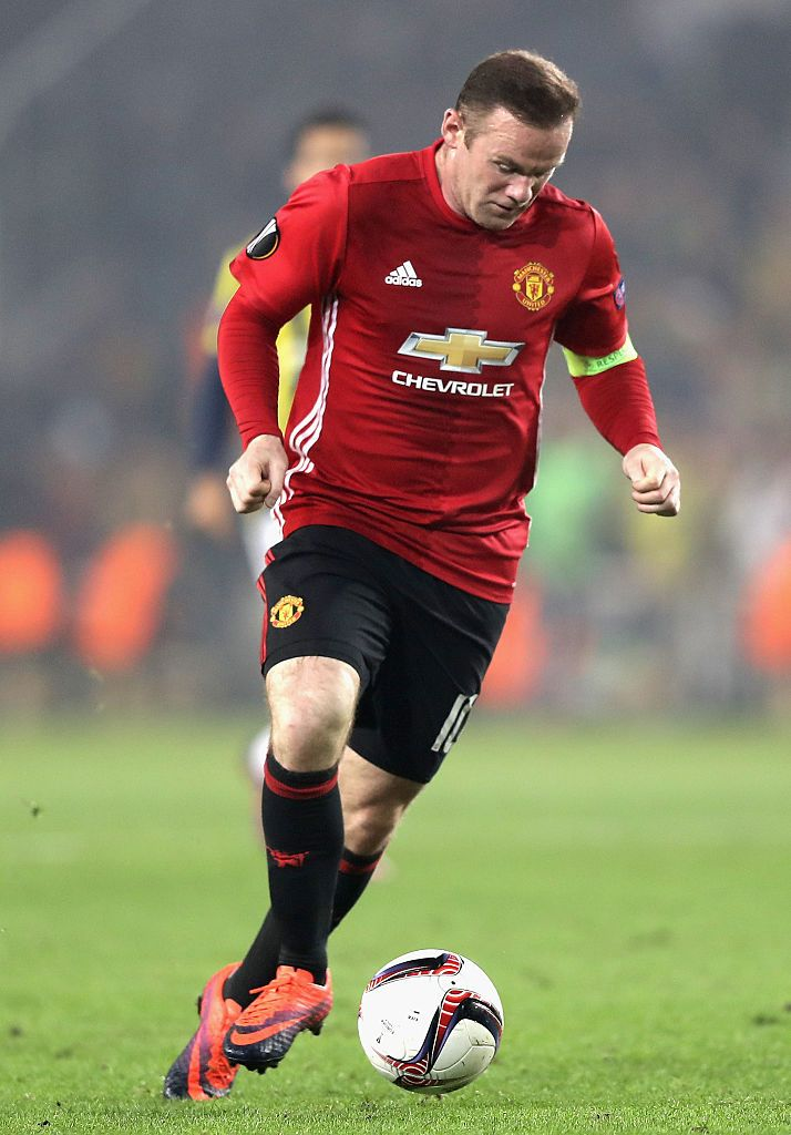 Rooney Manchester United F.C