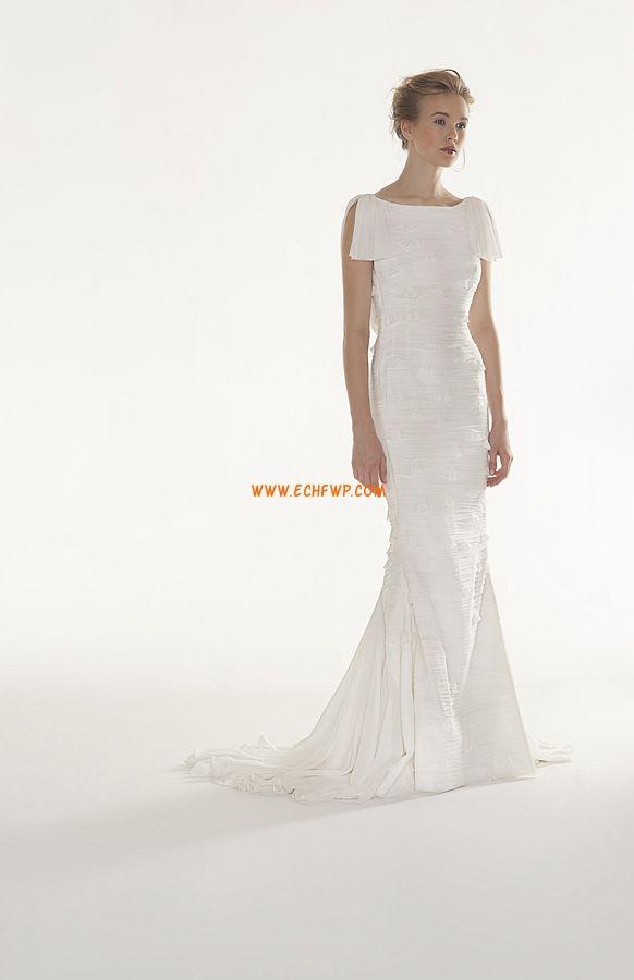 Plage / Destination Printemps 2014 Col bateau Robes de mariée pas cher