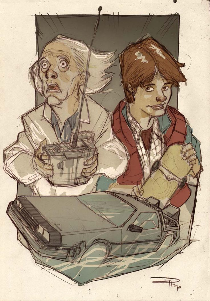Back to the Future by ~DenisM79 on deviantART