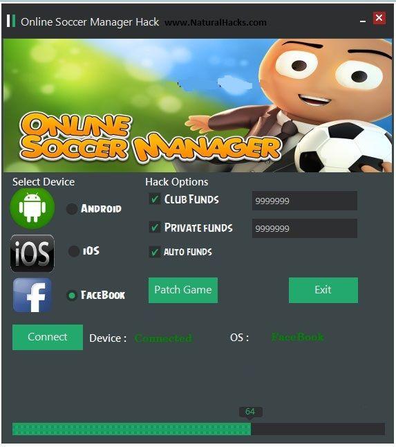 Online Soccer Manager Hack