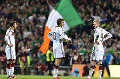 Nach Irlandpleite: Noch kein EM-Ticket für den Weltmeister