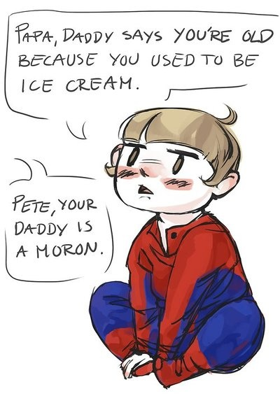 Peter your fathers an idiot