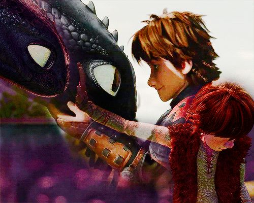 I don't know how to express how much I love this. How To Train Your Dragon, Toothless, Hiccup, Relationship