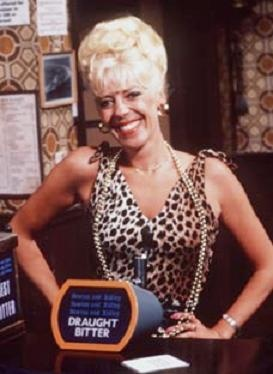 It's Bet Lynch From Coronation Street! Her Leopard Print Clothes Were Mocked For Years But Not This Season! Animal Print Couldn't Be Bigger!
