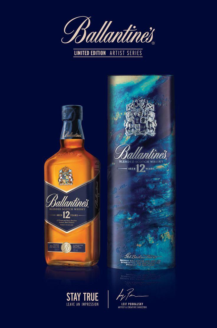 https://www.behance.net/gallery/31556267/Ballantines-Whisky-Artist-Series