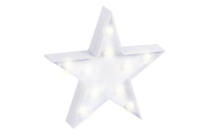 """Cartel Led """"Estrella"""" – Zap+Zap – Decoración – Regalo – Antigüedades. Salamanca."""