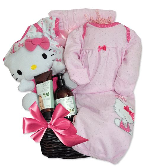 40 best baby gift baskets toronto images on pinterest baby gift hello kitty baby gift basket toronto negle Gallery