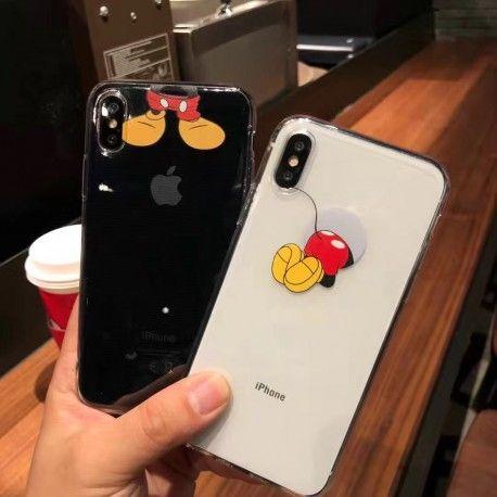 d71830a460 可愛いmickeyミッキーiPhoneX/8/7 plusケース。ソフトなクリアケースで、薄型で軽いで、ペアケースとして最適です。
