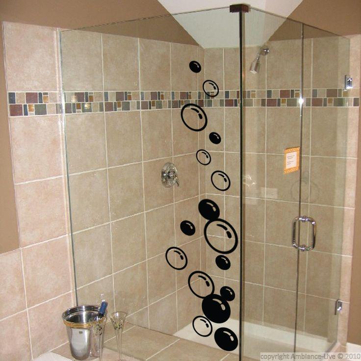 Stickers muraux pour salle de bain sticker mural bulles - Sticker mural salle de bain ...
