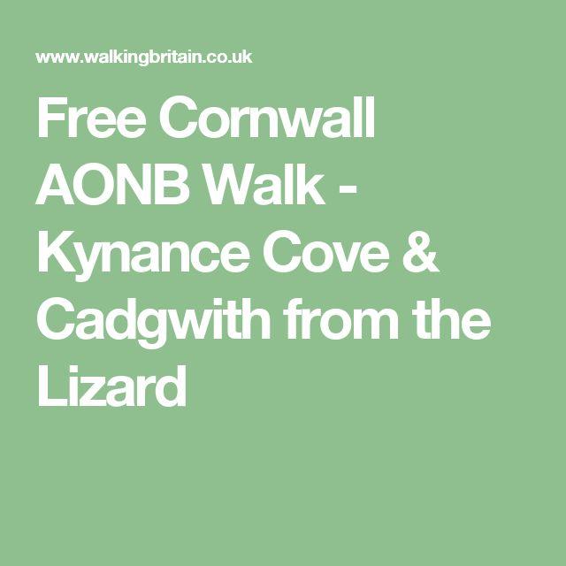 Free Cornwall AONB Walk - Kynance Cove & Cadgwith from the Lizard