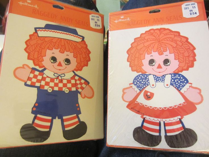 236 Best Raggedy Ann Andy From Hallmark Cards Images On