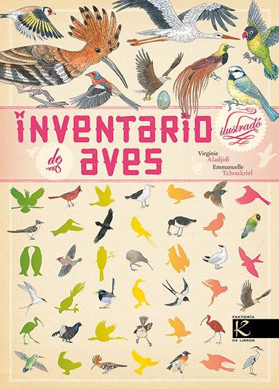 """""""Inventario de aves"""" Virginie Aladjidi y Emmanuelle Tchoukriel"""