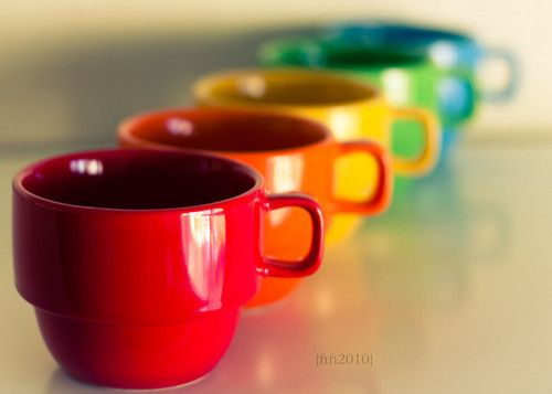 Rainbow Coffee Mugs Rainbows
