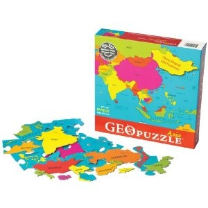 Geopuzzles are a great addition to the geography portion of TOG.
