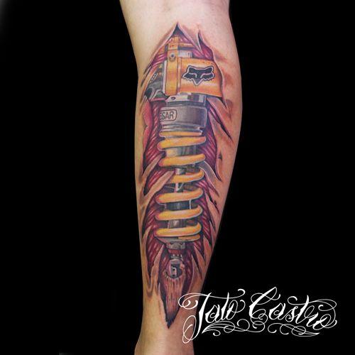 Amortiguador Pierna Absorbers Tattoo Amortiguador Tatuajes