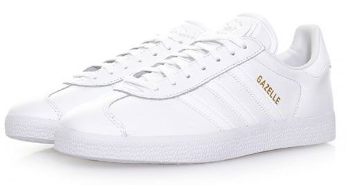 Adidas Gazelle trainers return in all-white leather