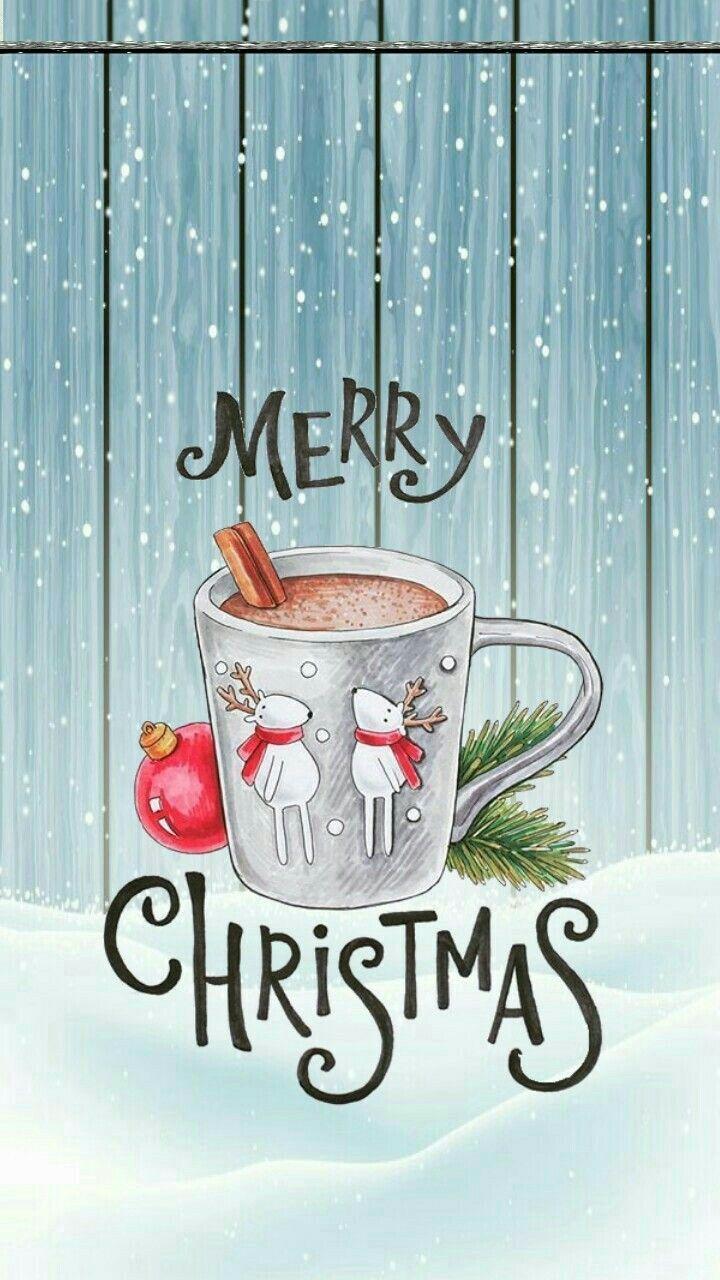 Tapeten-Hintergrundkunst der frohen Weihnachten | DIY und ...