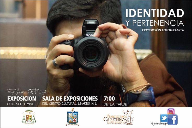 Todos invitados a la exposición fotográfica de Fray Javier Garza. Muchas felicidades, hermano. Que Dios bendiga tu vida y proyectos.