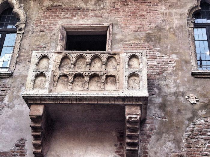 Casa di Giulietta Balkon