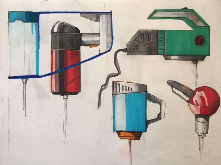 Sketches of a mixer
